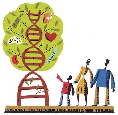 آزمایشات ژنتیکی